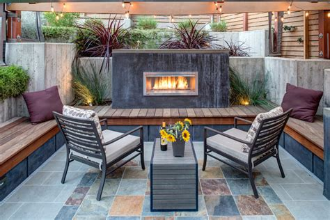24 outdoor fireplace designs ideas design trends