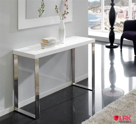 Gestell Interio by Con 02 Dupen Design Konsolentisch Hochglanz Konsole Tisch