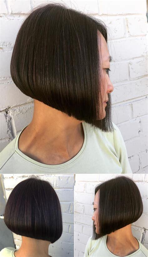 extreme a line bob haircut extreme undercut bob haircuts