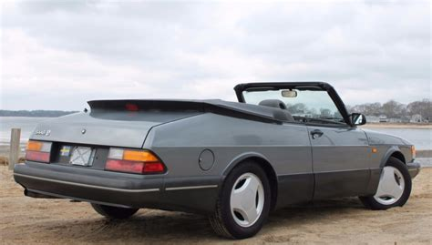 1991 saab 900 turbo se convertible 5 speed for sale on bat