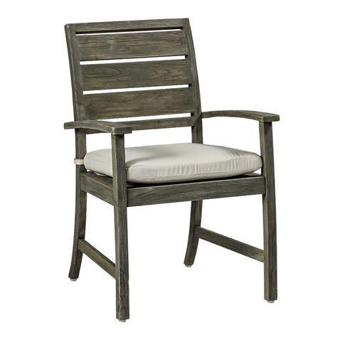 charleston outdoor teak arm chair
