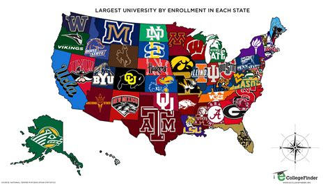 map of universities in usa logos ketchup curry