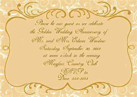 50th Wedding Anniversary Certificate Templates