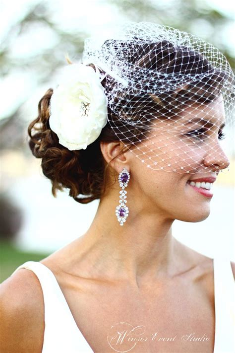 Wedding Hairstyles With Blusher Veil by Wedding Hairstyles With Blusher Veil Www Pixshark