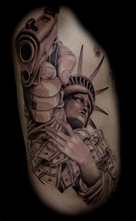 statue of liberty by jason frieling tattoos