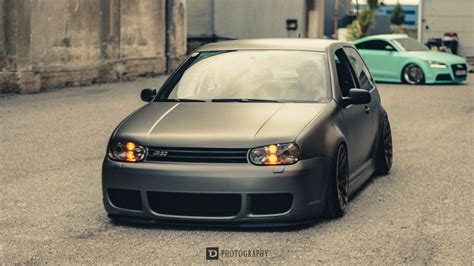 slammed volkswagen golf pin slammed mk4 gti on pinterest