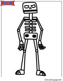 minecraft skeleton template minecraft skeleton tamed wolf coloring pages coloring pages