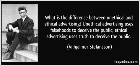 the ethical adman advertising in the pubic interest what is the difference between unethical and ethical