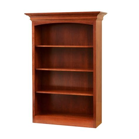 5 Foot Bookcase Fulton Ave 5 Bookcase Amish Handcrafted Furniture