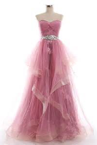 Dresses gt prom dresses gt sweetheart unique design pink prom dress with