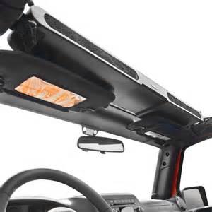 jeep wrangler overhead storage rugged ridge overhead storage console ebay
