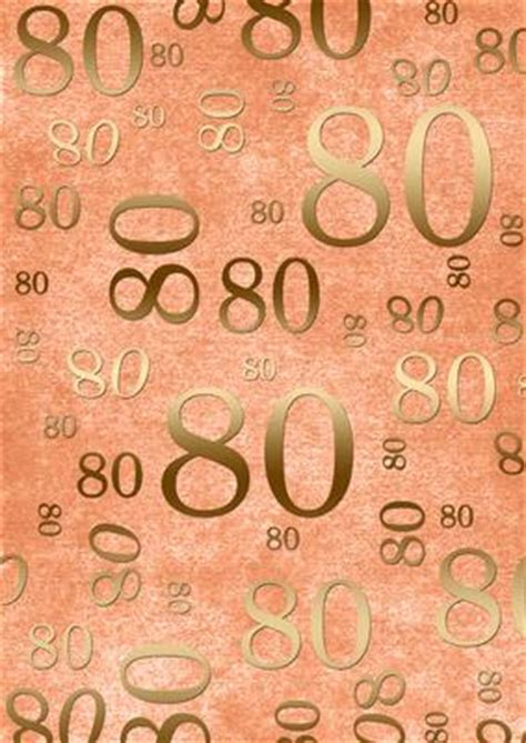 backdrop design for 80th birthday peach and gold 80th birthday a4 backing paper cup230852