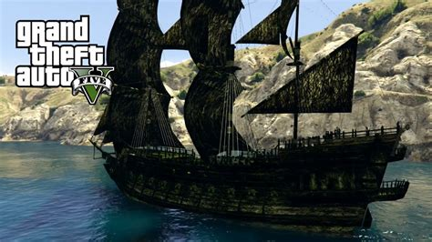 schip pirates of the caribbean pirates of the caribbean ships gta 5 mods youtube