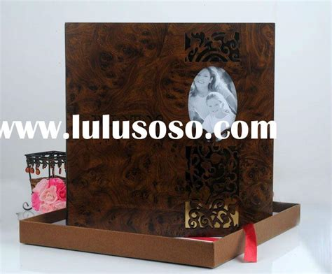 Wedding Album Box Suppliers by Professional Wedding Wooden Photo Album With Box Set For