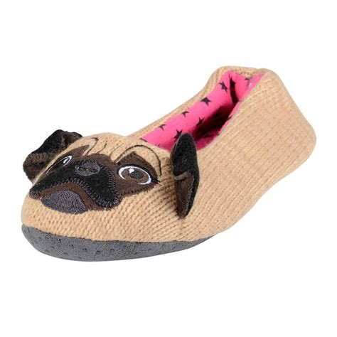 pug slippers novely animal panda pug ballet slippers