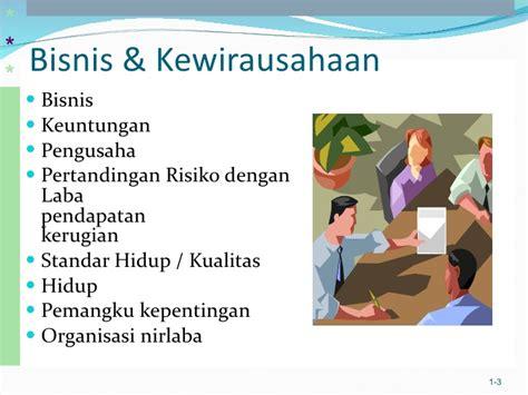 Pengantar Bisnis 1 pengantar bisnis bab 1