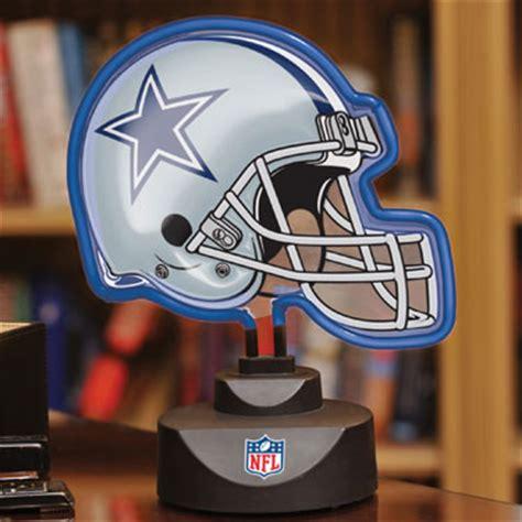 dallas cowboys l shade dallas cowboys nfl neon helmet table l