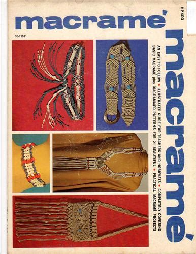 Macrame Guide - macrame illustrated guide cross stitch stash