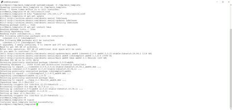 lxc templates proxmox environment lxc templates anpassen