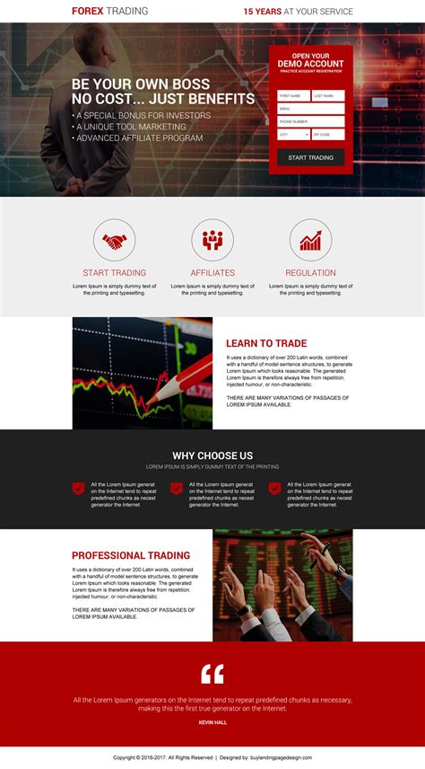 forex landing page template become forex exchange broker res lp 015 forex trading
