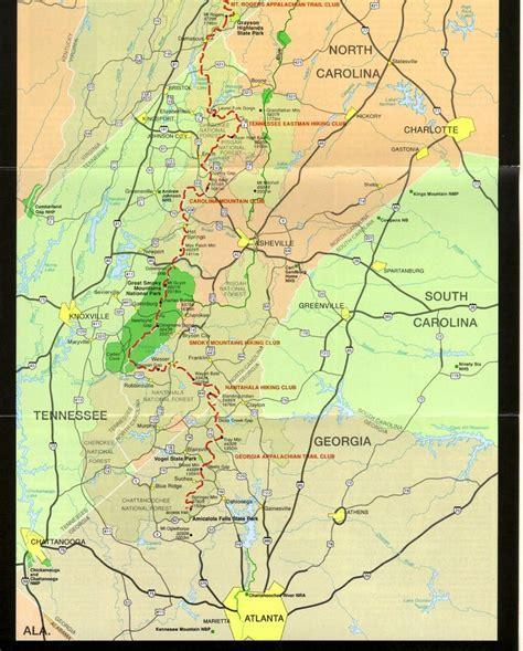 best section of appalachian trail 25 best ideas about map of appalachian trail on pinterest