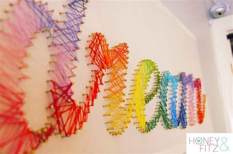 String Projects - diy room decor projects diy ready