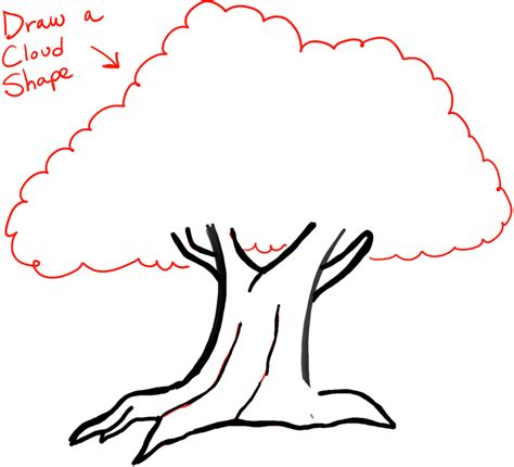 how to draw a doodle tree how to draw trees with easy step by step drawing
