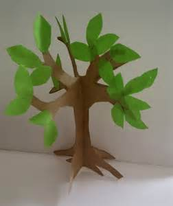 How To Make Tree Out Of Paper - how to make an easy paper craft tree imagine forest