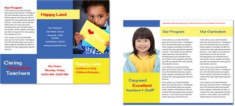child care brochure template child care brochure template 29 child care owner