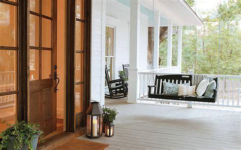 door porch swing transcend composite decking deck floors trex