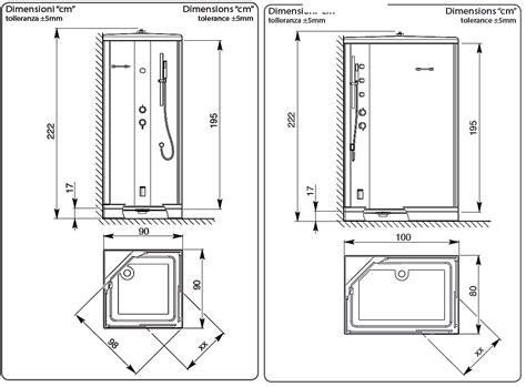 piatti doccia misure speciali misure speciali con dimensioni box doccia e misure