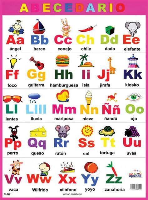 el abecedario el alfabeto en espa 241 ol love this pinterest random