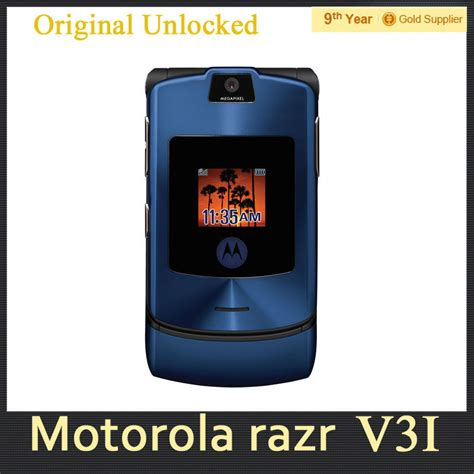 Motorolas Third Product Phone The V3i by V3i Original Motorola Razr V3i Dg Vesion Band Mobile