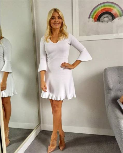 celebrity juice couples special 2018 holly willoughby dons 163 79 massimo dutti dress for return