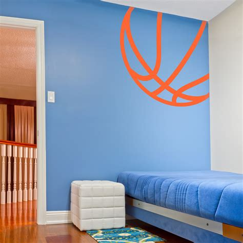 basketball wall murals home decor basketball wall stickers michael poster room decal sticker sports boy