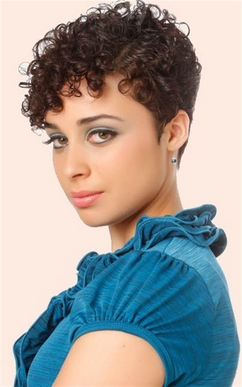 short haircuts for naturally curly hair pictures short naturally curly hairstyles 2015