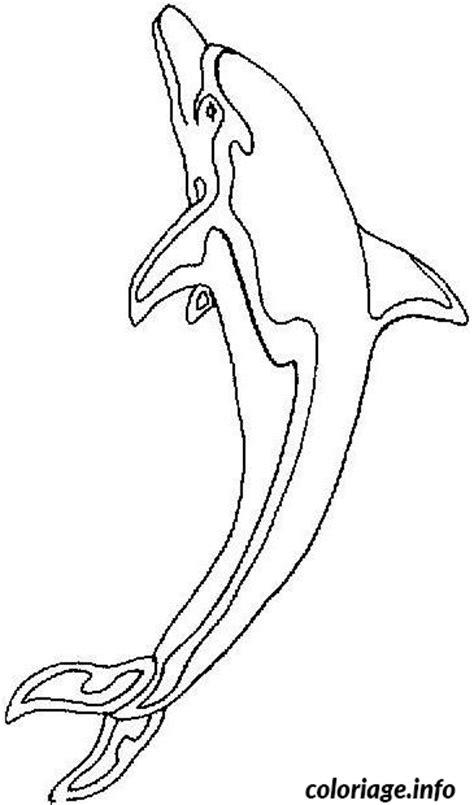Coloriage dauphin - JeColorie.com