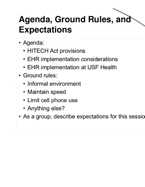 Nyu Part Time Mba Information Session by Performance Improvement Within An Ehr Electronic Health
