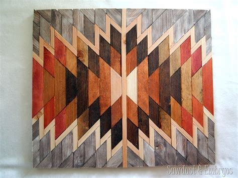 Southwestern Home Designs by Wooden Wall Art Inspiration Sawdust And Embryos