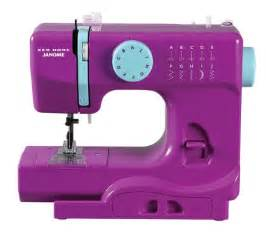 Janome portable sewing machine six fun colors beginner sewing