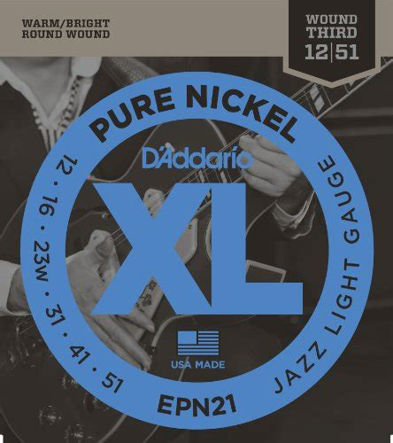 String Guitar Electric D Addario Usa Gold 0 09 Parts G 3 0 16 d addario epn21 nickel electric guitar strings jazz import it all