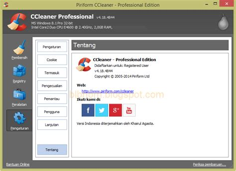 ccleaner activator ccleaner professional 4 18 4844 terbaru full activator