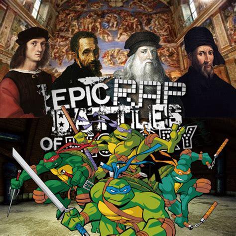 artists vs tmnt epic rap battles of history season 3 finale user blog samuraisanada5628 artists vs tmnt if it was