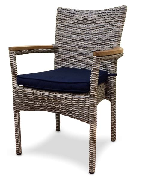 outdoor wicker dining chair santa barbara