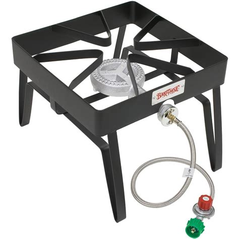 Outdoor Gas Cooktop bayou classic stoves with low pressure gas burner black outdoor stove bbq guys