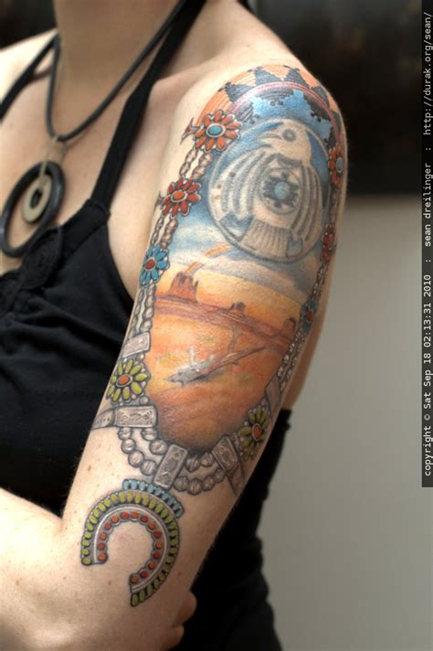 american themed tattoos photo phase of s navajo themed by
