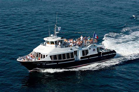 boat trips from juan les pins to st tropez bateau pour l ile sainte marguerite iles de lerins