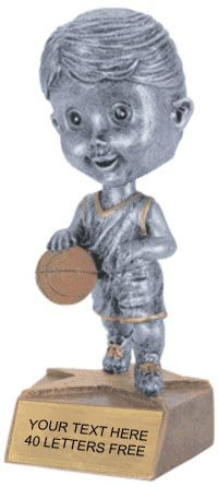 bobblehead basketball trophy basketball bobblehead jr resin trophy
