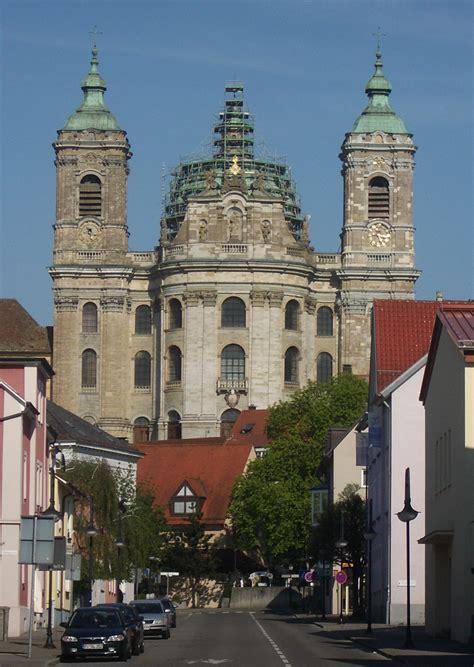File Weingarten Basilika Fassade Abt Hyller Strasse Jpg