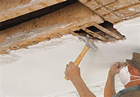 Renover Plafond Platre by Enduit Pour R 233 Nover Mur Et Plafonds En Pl 226 Tre